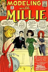 Cover Thumbnail for Modeling with Millie (Marvel, 1963 series) #25