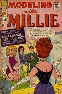 Cover Thumbnail for Modeling with Millie (Marvel, 1963 series) #26