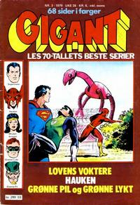 Cover Thumbnail for Gigant (Semic, 1977 series) #3/1979