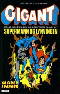 Cover Thumbnail for Gigant (Semic, 1977 series) #3/1982