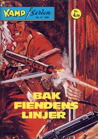 Cover Thumbnail for Kamp-serien (Se-Bladene, 1964 series) #31/1981