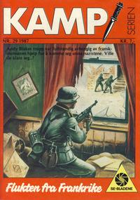 Cover Thumbnail for Kamp-serien (Se-Bladene, 1964 series) #29/1987