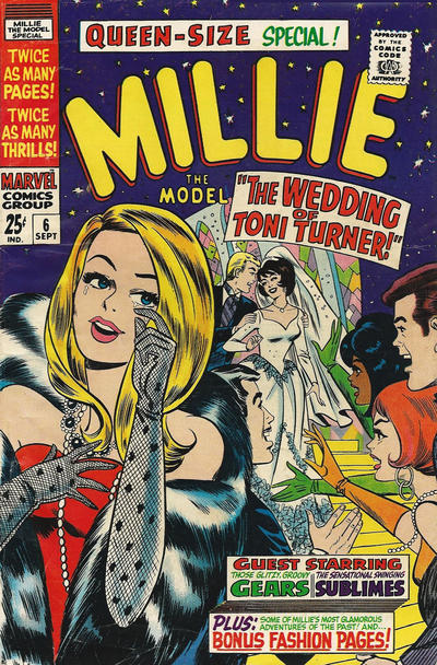 Cover for Millie the Model Annual (1962 series) #6