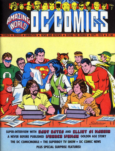 Cover for The Amazing World of DC Comics (DC, 1974 series) #2