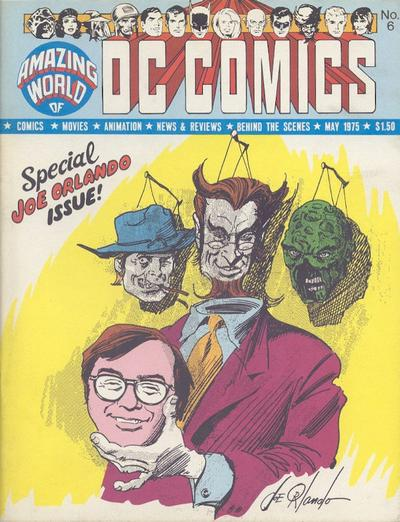 Cover for The Amazing World of DC Comics (DC, 1974 series) #6