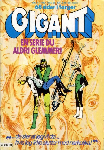 Cover for Gigant (1977 series) #4/1980