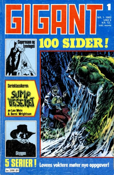 Cover for Gigant (Semic, 1977 series) #1/1983