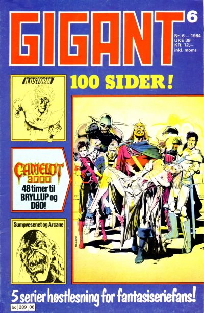 Cover for Gigant (Semic, 1977 series) #6/1984
