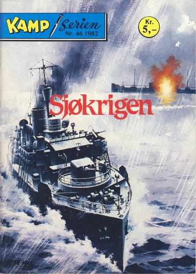 Cover for Kamp-serien (1964 series) #46/1982