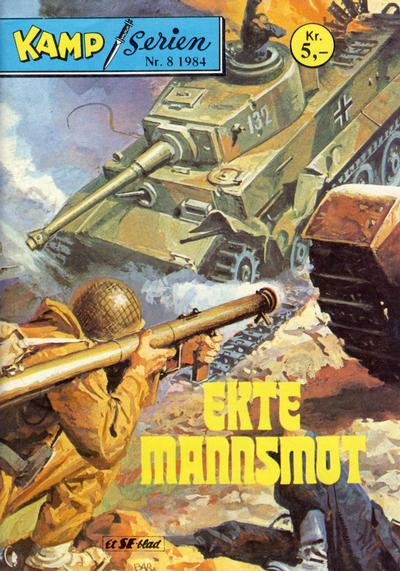 Cover for Kamp-serien (1964 series) #8/1984