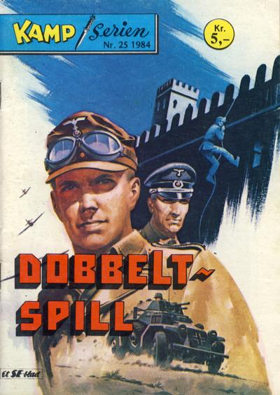 Cover for Kamp-serien (1964 series) #25/1984