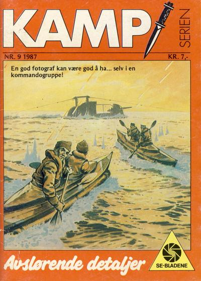 Cover for Kamp-serien (1964 series) #9/1987