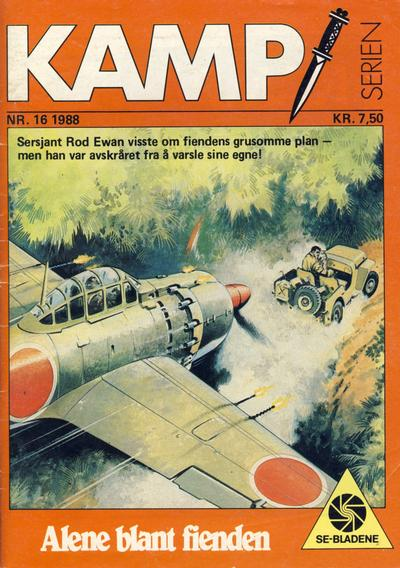 Cover for Kamp-serien (1964 series) #16/1988