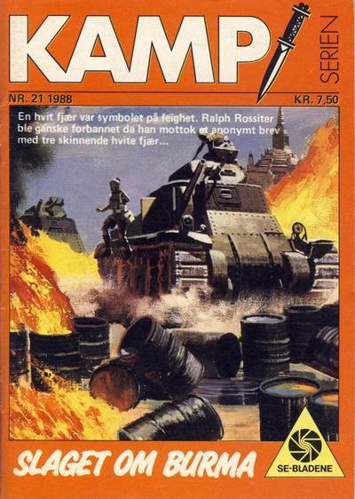 Cover for Kamp-serien (1964 series) #21/1988