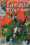Cover Thumbnail for Fantastic Four (1961 series) #345 [Newsstand Edition]