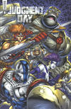 Cover for Judgment Day Alpha (Awesome, 1997 series) #1 [Rob Liefeld Cover]