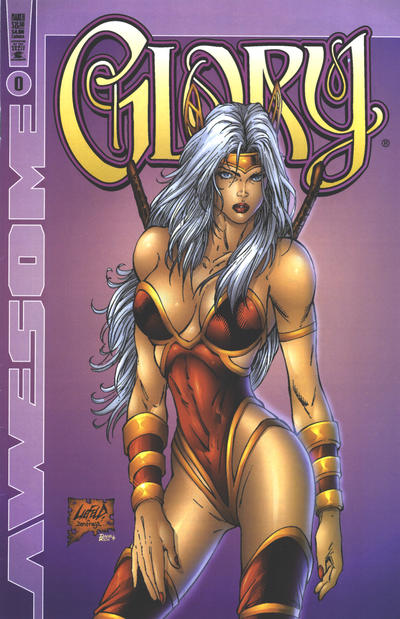 Cover for Glory (Awesome, 1999 series) #0 [Peterson Cover]