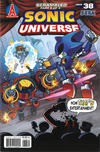 Cover for Sonic Universe (Archie, 2009 series) #38