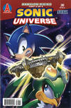 Cover for Sonic Universe (Archie, 2009 series) #36