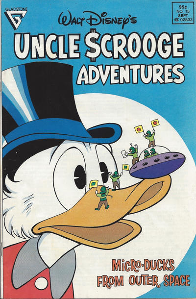 Cover for Walt Disney's Uncle Scrooge Adventures (Gladstone, 1987 series) #15