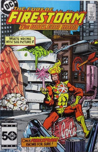 Cover Thumbnail for The Fury of Firestorm (DC, 1982 series) #37 [Direct Edition]