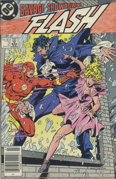 Cover for Flash (DC, 1987 series) #2 [Direct Edition]