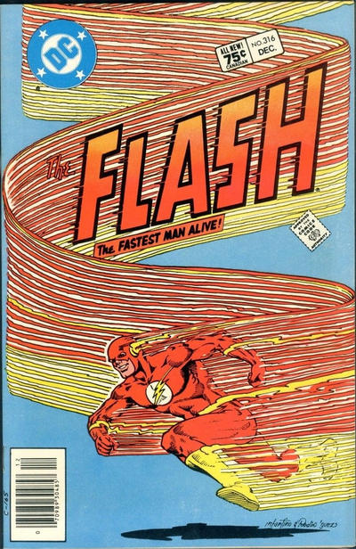Cover for The Flash (DC, 1959 series) #316 [Direct Edition]