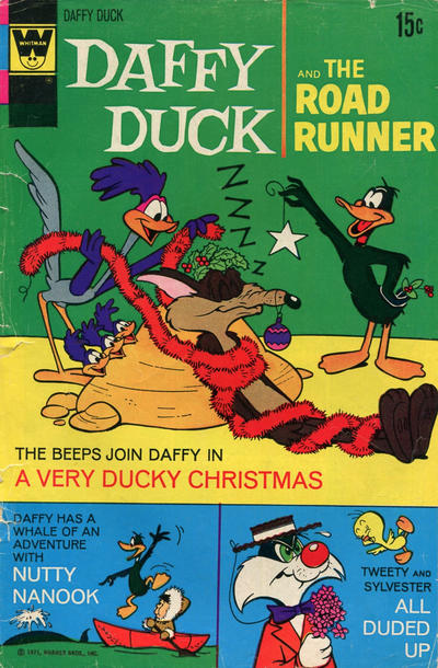 Cover for Daffy Duck (Western, 1962 series) #73 [Gold Key]