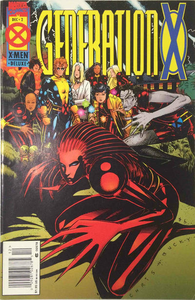 Cover for Generation X (Marvel, 1994 series) #2 [Deluxe Direct Edition]