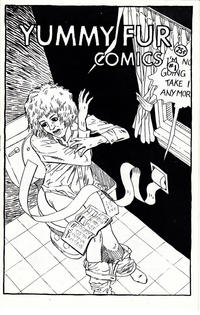 Cover Thumbnail for Yummy Fur (Chester Brown (Tortured Canoe), 1983 series) #1