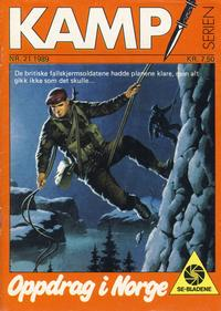 Cover Thumbnail for Kamp-serien (Se-Bladene, 1964 series) #21/1989