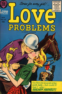Cover Thumbnail for True Love Problems and Advice Illustrated (Harvey, 1949 series) #37