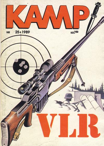 Cover for Kamp-serien (1964 series) #25/1989