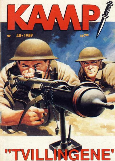 Cover for Kamp-serien (Se-Bladene, 1964 series) #48/1989