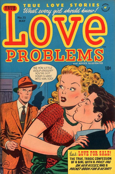 Cover for True Love Problems and Advice Illustrated (1949 series) #15