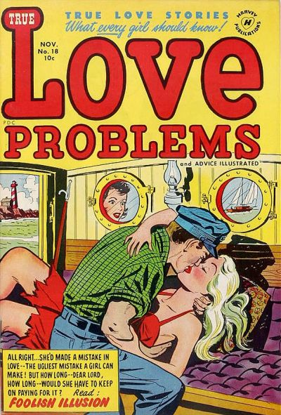 Cover for True Love Problems and Advice Illustrated (Harvey, 1949 series) #18