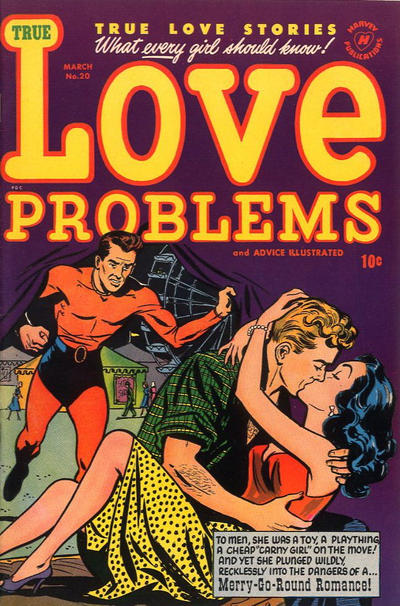 Cover for True Love Problems and Advice Illustrated (1949 series) #20