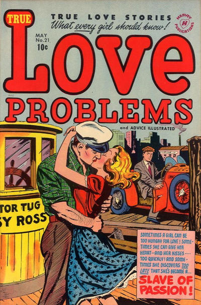 Cover for True Love Problems and Advice Illustrated (Harvey, 1949 series) #21