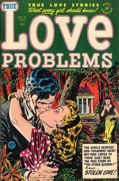 Cover for True Love Problems and Advice Illustrated (Harvey, 1949 series) #29