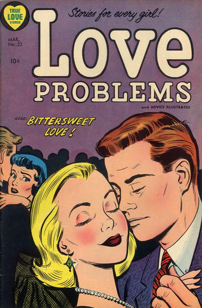 Cover for True Love Problems and Advice Illustrated (1949 series) #32