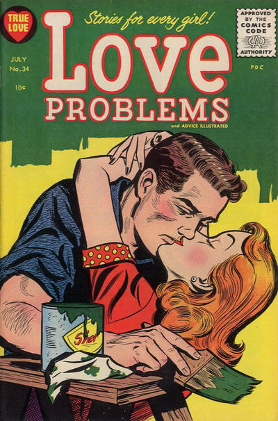 Cover for True Love Problems and Advice Illustrated (Harvey, 1949 series) #34