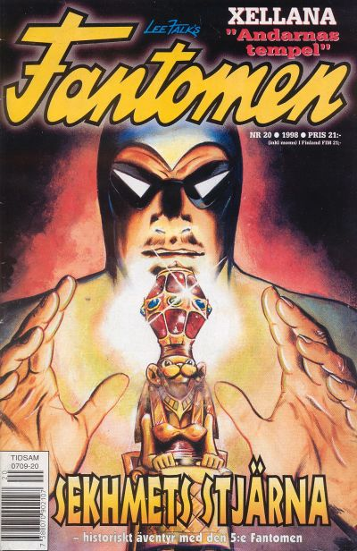 Cover for Fantomen (Egmont, 1997 series) #20/1998