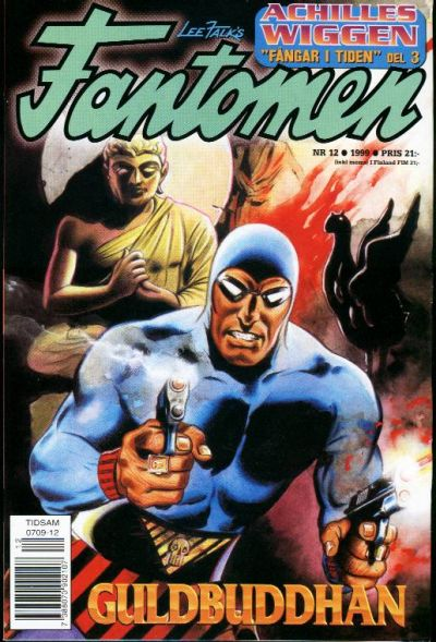 Cover for Fantomen (Egmont, 1997 series) #12/1999