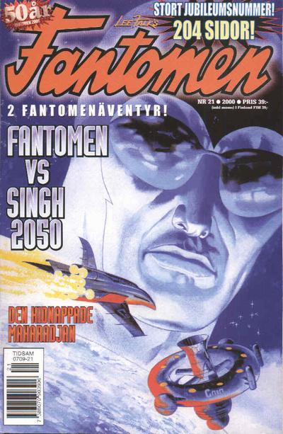 Cover for Fantomen (Egmont, 1997 series) #21/2000