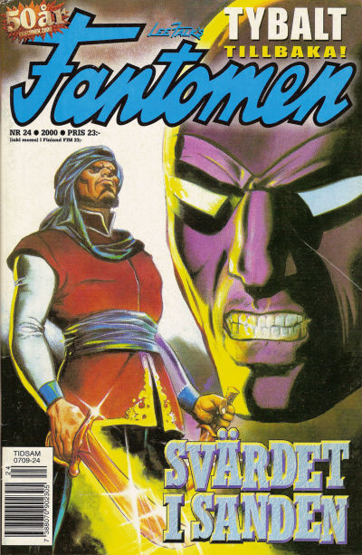 Cover for Fantomen (Egmont, 1997 series) #24/2000