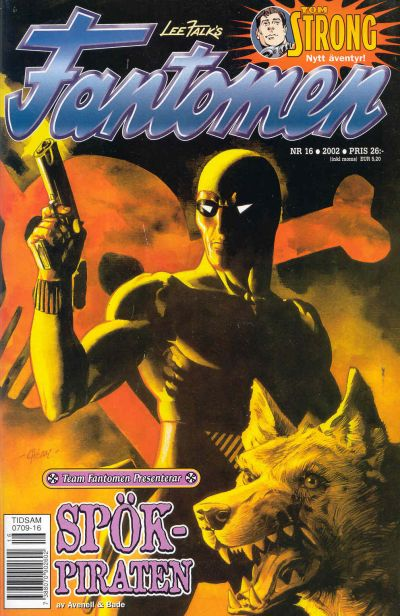 Cover for Fantomen (Egmont, 1997 series) #16/2002