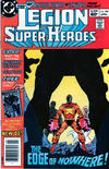 Cover Thumbnail for The Legion of Super-Heroes (1980 series) #298 [Newsstand]