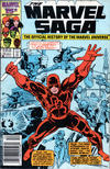 Cover for The Marvel Saga the Official History of the Marvel Universe (Marvel, 1985 series) #13 [Newsstand Edition]