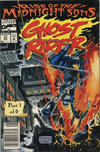 Cover Thumbnail for Ghost Rider (1990 series) #28 [Newsstand Edition]