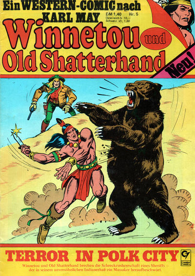 Cover for Winnetou und Old Shatterhand (Condor, 1977 series) #5